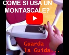 Guarda i nostri video guida come si usa un montascale