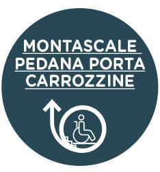 Montascale Pedana Porta Carrozzine